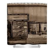 Cobblers Tobacco Shower Curtain