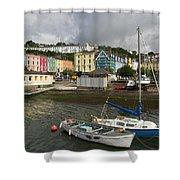 Cobh Town In Ireland Shower Curtain