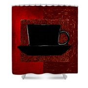 Coffee Passion Shower Curtain