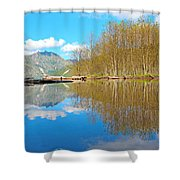 Coldwater Lake Shower Curtain