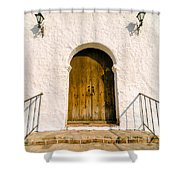 Colonial Door Shower Curtain