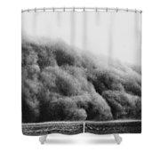 Colorado Dust Storm, 1935 Shower Curtain