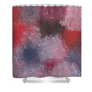 Colors Painting Shower Curtain