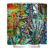 Colors Of Happiness Shower Curtain