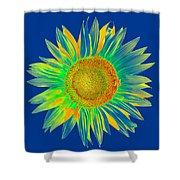 Colourful Sunflower Shower Curtain