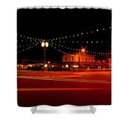 Columbiana Ohio Christmas Shower Curtain