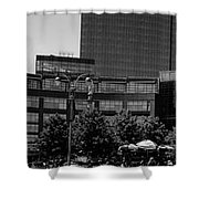 Columbus Circle Shower Curtain