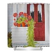 Come On In Shower Curtain