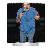 Comedian George Carlin Shower Curtain