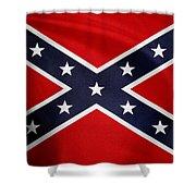 Confederate Flag 5 Shower Curtain