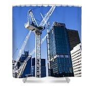 Construction City Shower Curtain