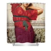 Contemplation Shower Curtain