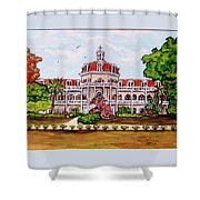 Convent Of Mary Immaculate Shower Curtain