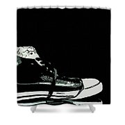 Converse Sports Shoes Shower Curtain