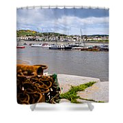 Conway Harbour Shower Curtain