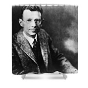 Coolidge X-ray Tube Inventor Shower Curtain