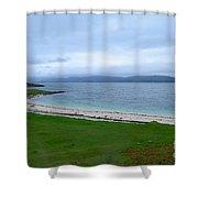 Coral Beach Shower Curtain