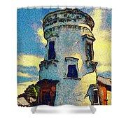 Corbiere Lighthouse Shower Curtain