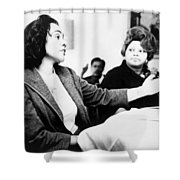 Coretta Scott King (1927-2006) Shower Curtain