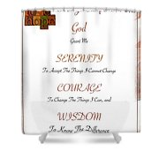 1 Corinthians 13 13 Find Serenity With Faith Hope And Love Shower Curtain