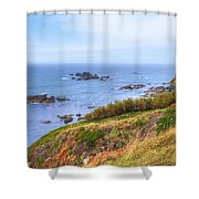 Cornwall - Lizard Shower Curtain