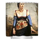 Corot's Agostino Shower Curtain