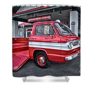 Corvair 95 Rampside Shower Curtain