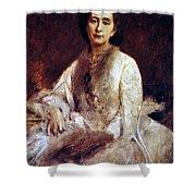 Cosima Wagner (1837-1930) Shower Curtain