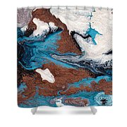 Cosmic Blend One Shower Curtain