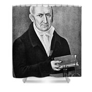 Count Alessandro Volta (1745-1827) Shower Curtain