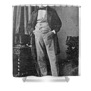 Count Walewski (1810-1868) Shower Curtain