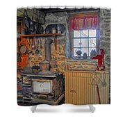 Country Kitchen Shower Curtain