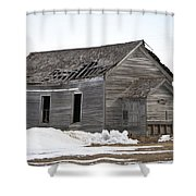 Country School Shower Curtain