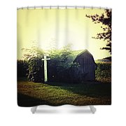 Country Warmth Shower Curtain
