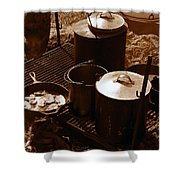 Cowboy Cooking Shower Curtain