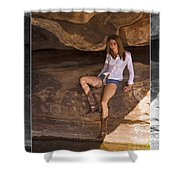 Cowgirl Shower Curtain