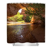 Coyote Natural Bridge - Coyote Gulch - Utah Shower Curtain by Gary Whitton