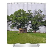 Cozy Shack  Shower Curtain