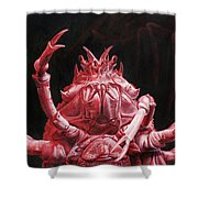 Crustacean Salutation Shower Curtain