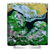 Crystal Reef Shower Curtain