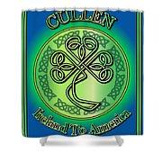 Cullen Ireland To America Shower Curtain