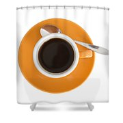 Cup Of Coffee Shower Curtain