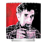 Cup Of Good Morning America Shower Curtain