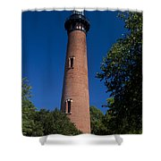 Currituck Beach Lighthouse Shower Curtain