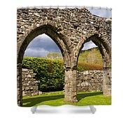 Cymer Abbey Snowdonia Shower Curtain
