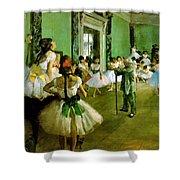 Dance Class  Shower Curtain