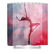 Dancing In The Clouds Shower Curtain