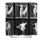 Dancing Woman Shower Curtain