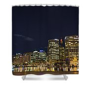 Darling Harbour In Sydney Australia Shower Curtain