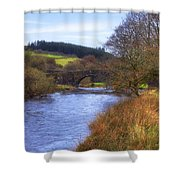 Dartmoor - Two Bridges Shower Curtain